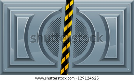 sliding doors vector