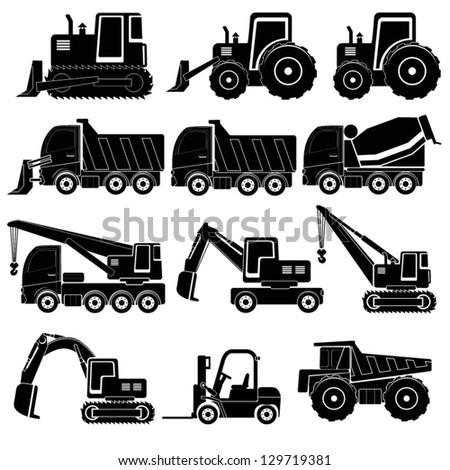 heavy duty machines   black