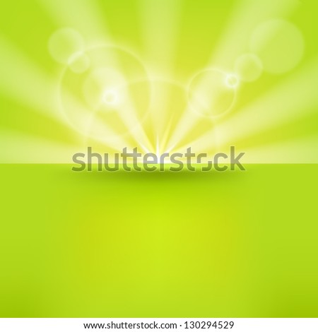 abstract green  background with