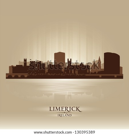 limerick ireland skyline city