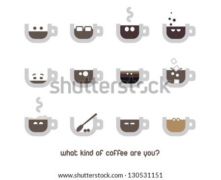 clip art illustration coffeecups