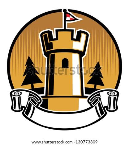 castle mascot