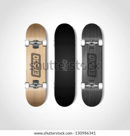 photorealistic skateboard