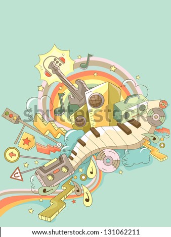 background illustration of