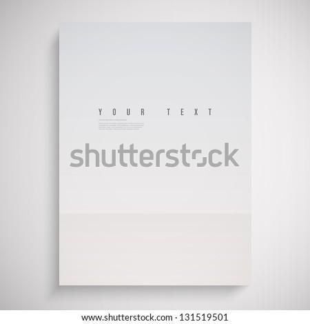 a4   a3 format paper design