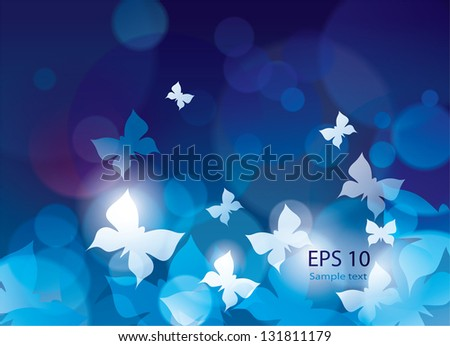 wallpaper with butterflies