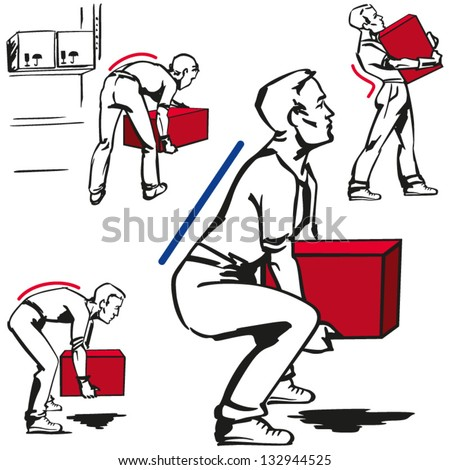handling of heavy items vector