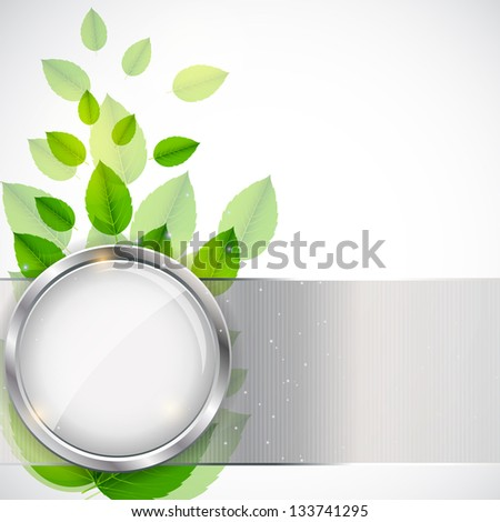 abstract nature background with