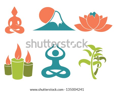 spa oriental vector images