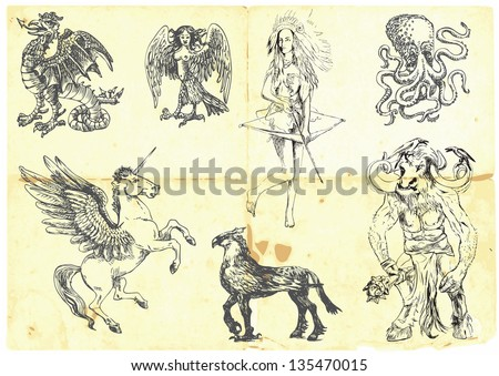 collection of mythical