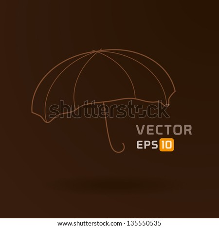 abstract umbrella illustration