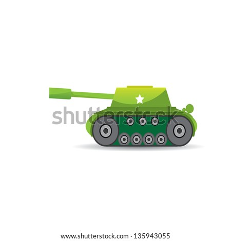 vector army tank vector