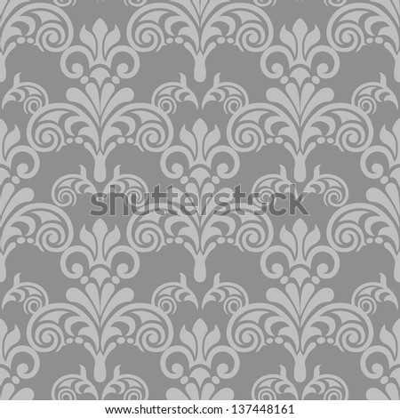 damask seamless pattern for