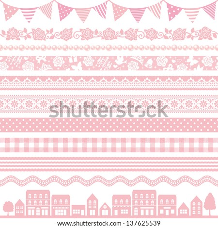 pink decoration