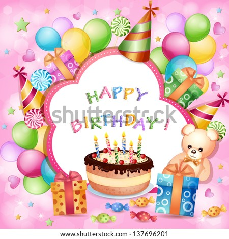 Birthday Card Clip Art Free Vector Download 218 704 Free Vector