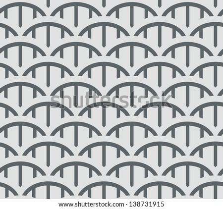 seamless vector wave pattern