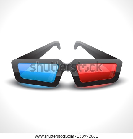 vector 3d cinema glass
