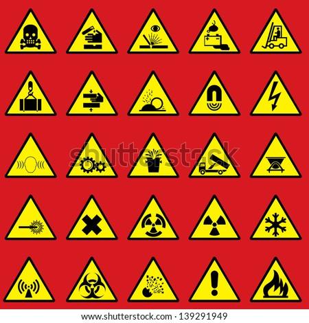 Danger Symbols Fire Free Vector Download 19168 Free Vector For