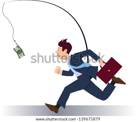 Greedy Businessman Clipart