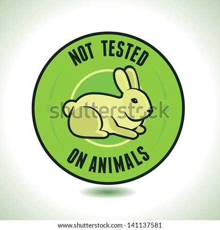 vector not tested on animals