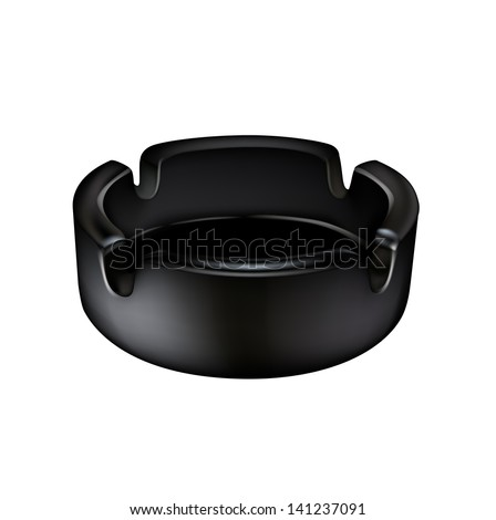stock-vector-ashtray-isolated-on-white-background