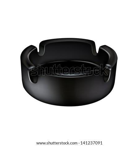 stock-vector-ashtray-isolated-on-white-background