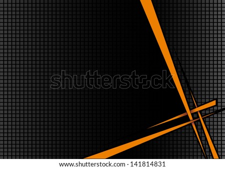 background black orange disco