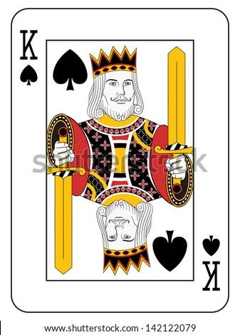 king of spades original design