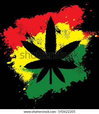 marijuana rastafarian grunge