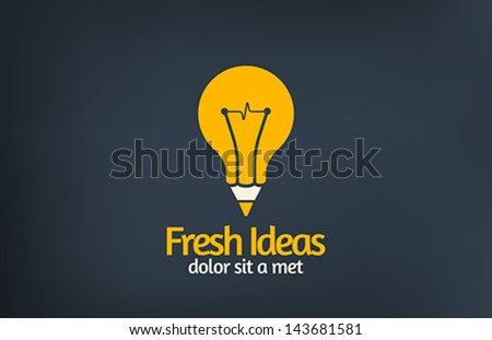 fresh idea art design concept