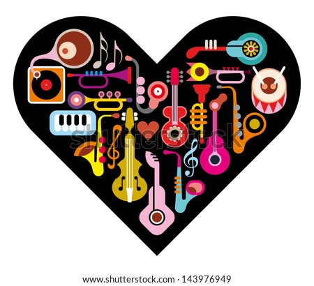 love music heart musical