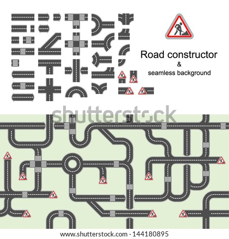 road constructor   seamless
