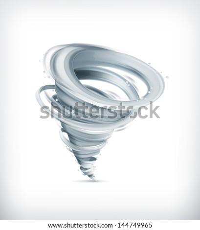 tornado  vector icon