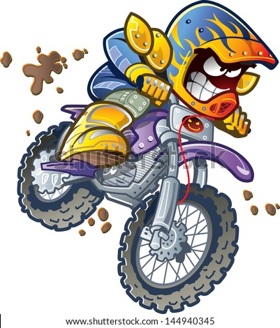 dirt bike motorcycle rider