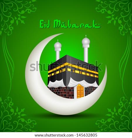 vector illustration of eid