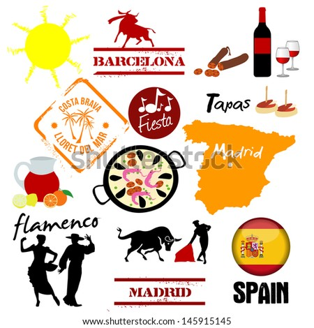 illustrations of spain
