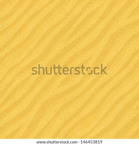 seamless sand surface  vector