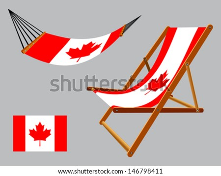 canada hammock and deck chair