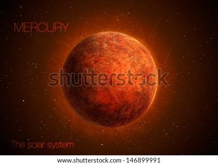 solar system   planet mercury