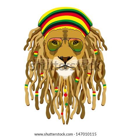 lion  rastafarian