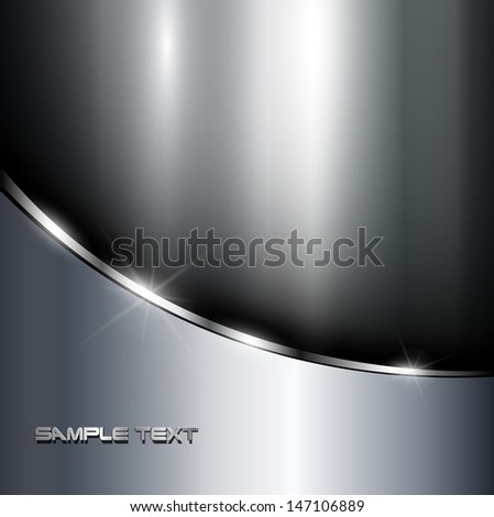 metallic background polished
