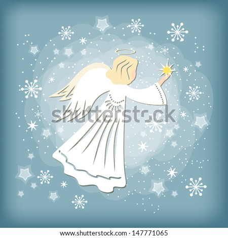 angel vector illustration