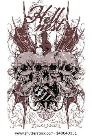 hell nest   also available in