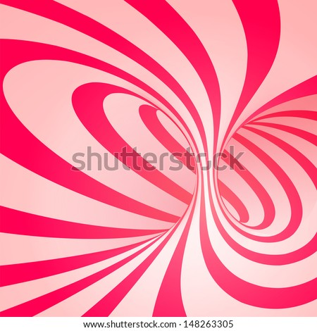 candy cane sweet spiral