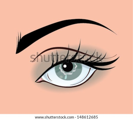 smoky eye grey eye make up