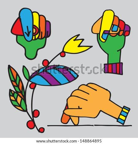 Fingering clips