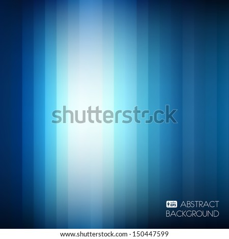 blue abstract striped