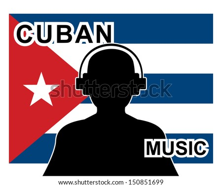 cuban music concept with a