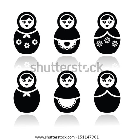 russian doll  retro babushka