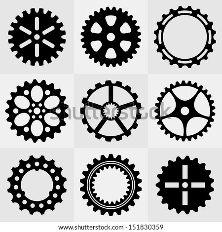 Bicycle gear vector art downloads free vector download (210,168 ...